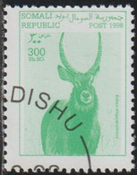 Somalia 1998 Col 04/05 Sello * Fauna Antilopes Waterbuck (Kobus Ellipsiprymnus) Cenicienta Somali Post Republic Stamps - Somalia (1960-...)