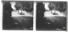 Plaque De Verre - Voiture Bugatti - Diapositivas De Vidrio