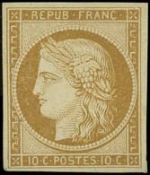 * 1    10c. Bistre-jaune, Quasiment **, Très Frais Et TB. C - 1849-1850 Ceres