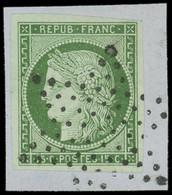 EMISSION DE 1849 - 2    15c. Vert, Oblitéré ETOILE S. Fragt, TTB - 1849-1850 Ceres