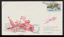 USA Cover 1980 Soviet Tank Crushing The Olympic Games In Moscow Posted Elizabeth 1980 (G133-60) - Sommer 1980: Moskau