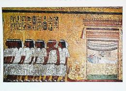 ►   Egypte   Tombe De Toutankhamon  Le Halage Du Catafalque - Piramidi