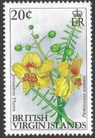 British Virgin Islands. 1991 Flowers. 20c MNH. SG 771 - British Virgin Islands