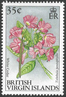 British Virgin Islands. 1991 Flowers. 35c MNH. SG 893 - British Virgin Islands