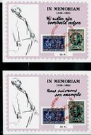 PR 137/8  25 Ans Mort De L'écrivain Emile Vandervelde - Private & Local Mails