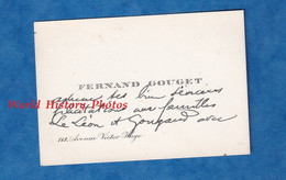 Carte De Visite Ancienne - PARIS 16e - Monsieur Fernand GOUGET - 113 Avenue Victor Hugo - 1925 - Visiting Cards
