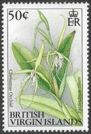 British Virgin Islands. 1991 Flowers. 50c MNH. SG 896 - British Virgin Islands