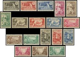 * Grandes Séries Coloniales 1935 : Tricentenaire Des Antilles, TB - Unclassified