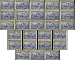 * Grandes Séries Coloniales 1938 : Pierre Et Marie Curie, TB - Unclassified