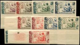 ** Grandes Séries Coloniales 1950 : F.O.M., NON DENTELES Bdf, TB - Unclassified