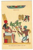 10.621 - WINGET SUN DISK KING HERIHOR KNEELING & OFFRING TO GOD MONT - Altri