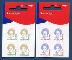 ⭐ Pays Bas - YT Carnet N° C 2199 Et 2200 ** - Neuf Sans Charnière - Dos Abimé - 2005 ⭐ - Postzegelboekjes En Roltandingzegels
