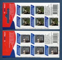 ⭐ Pays Bas - YT Carnet N° C 2115 Et 2116 ** - Neuf Sans Charnière - Dos Abimé - 2004 ⭐ - Postzegelboekjes En Roltandingzegels