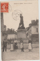 Arcis Sur Aube (10 - Aube)  Statue De Danton - Arcis Sur Aube