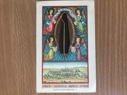 Steendruk Litho Van De Vyvere Petyt Bruges Relique Du Saint Clou Monastère De Soleilmont Fleurus - Images Religieuses