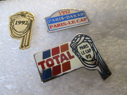 PIN'S     LOT 3  PARIS  DAKAR  92 - Rallye