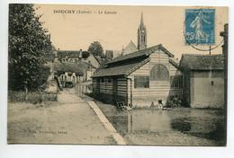 45 DOUCHY Le Lavoir Du Bourg 1926 écrite Timbrée  D01 2021 - Sonstige Gemeinden