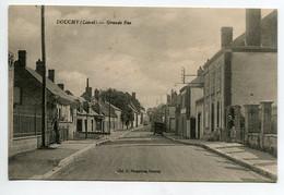 45 DOUCHY La Grande Rue Du Bourg 1920 D01 2021 - Sonstige Gemeinden