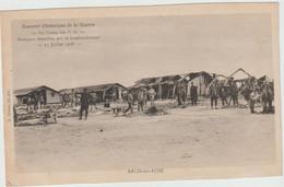 Arcis Sur Aube (10 - Aube)  Au Camp Des PG - Baraques Démolies Par Le Bombardement - 15 Juillet 1918 - Arcis Sur Aube