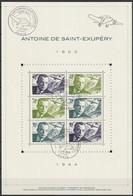 """FRANCE 2021 BLOC FEUILLET """"ANTOINE DE SAINT-EXUPERY 1900-1944"""" -  OBLITERE 1er JOUR 17.06.2021 - Oblitérés"""