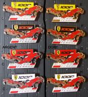 1 PINS SUPERBE PIN'S FERRARI 1000 ème GRAND PRIX DORE 6cm  QUE LE (F) - Ferrari