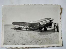 """AVIATION - CAUDRON 640 """" Typhon"""" Le Louis Blériot - Années 1935/45 -Photographie Originale Argentique - TBE - Aviation"""