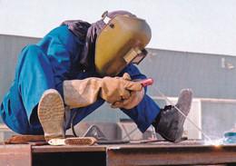A9199- WELDER WORKER PROFESSION POSTCARD - Andere