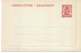 Belgique Carte-lettre N° 30 I Neuve - Letter-Cards