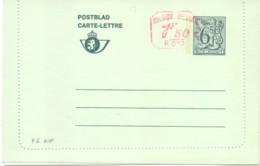Belgique Carte-lettre N° 46 NF Neuve - Letter-Cards