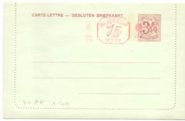Belgique Carte-lettre N° 40 FN Neuve - Letter-Cards