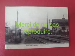 95 008 SAINT OUEN L'AUMÔNE  Halte De L'ouest - Saint Ouen L'Aumone