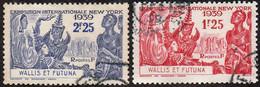 Détail De La Série Exposition Internationale De New York Obl. Wallis Et Futuna N° 70 Et 71 - 1939 Exposition Internationale De New-York