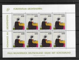 1995 MNH Liechtenstein Mi 1123  Postfris** - Bloques & Hojas