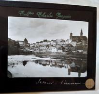 Semur-en-Auxois ( 21 ) - L' Armançon - Plaque De Verre Début XX ème - TBE - Diapositivas De Vidrio