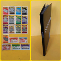 START 1 EURO: COINS ON STAMPS - MNH COLLECTION - Collections (with Albums)