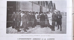 1903 FONTAINEBLEAU - L'ENSEIGNEMENT AGRICOLE À LA CASERNE - 1900 - 1949