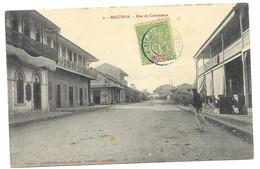 Madagascar Carte Postale De Majunga Vers France 1907 - Covers & Documents