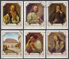 ROMANIA - 1970 - Serie Completa Usata: Yvert 2580/2585, 6 Valori, Come Da Immagine. - Usado