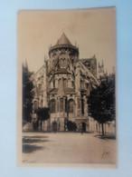 Cpa Bourges La Cathédrale L'Abside - Bourges