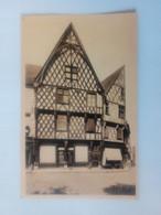 Cpa Bourges Vieilles Maisons Du XVIe Siècle - Bourges
