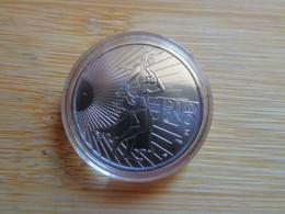 Pièce Argent 10€ Sous Capsule. La Semeuse En Marche 2009. - France