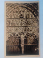 Cpa Bourges Portail Central De La Cathédrale.Le Jugement Dernier - Bourges