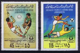 Libya 1979 World University Summer Games, Soccer, Football - Libya