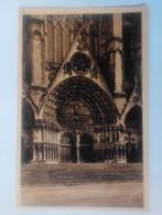 Cpa Bourges La Cathédrale Porche Central - Bourges