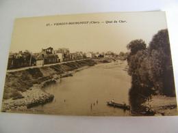 CPA - Vierzon (18) - Bourgneuf - Quai Du Cher - 1940 -  SUP  (FE 61) - Vierzon