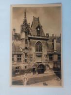 Cpa Bourges Hôtel De Jacques Coeur.La Façade - Bourges