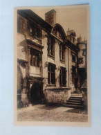 Cpa Bourges Hôtel Lallemant Façade Occidentale - Bourges