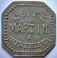 Jeton Café Martin à Monthieux - Monetari / Di Necessità