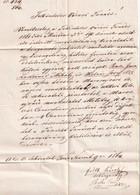 A8724 - VINTAGE LETTER 1864 HUNGAY AUSTRO-UNGARIA/ROMANIA  KOLOSVAR COLOS CLUJ-NAPOCA VINTAGE SEAL - ...-1858 Prefilatelia