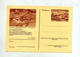 Carte Postale 1.50 étatisation Industrie  Illustré Krieglach - Entiers Postaux